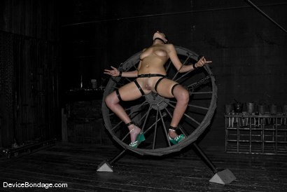 Photo number 5 from Bella Rossi shot for Device Bondage on Kink.com. Featuring Bella Rossi in hardcore BDSM & Fetish porn.