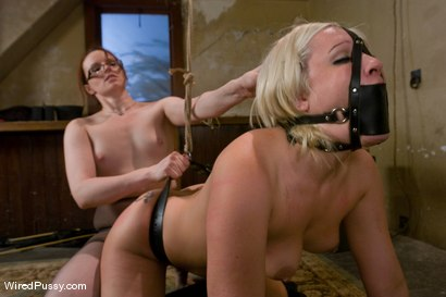 Photo number 14 from Krissy Leigh gets bound and fisted shot for Wired Pussy on Kink.com. Featuring Claire Adams and Krissy Leigh in hardcore BDSM & Fetish porn.