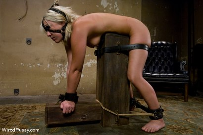 Photo number 4 from Krissy Leigh gets bound and fisted shot for Wired Pussy on Kink.com. Featuring Claire Adams and Krissy Leigh in hardcore BDSM & Fetish porn.