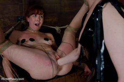 Trinity Post returns to Wiredpussy for an explosive update with Claire Adams