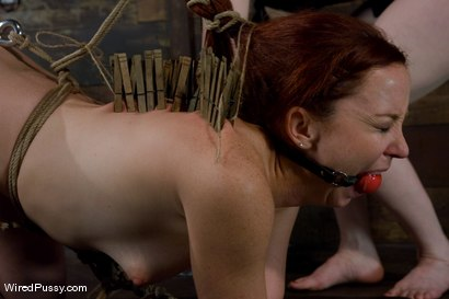 Photo number 12 from Trinity Post returns to Wiredpussy for an explosive update with Claire Adams shot for Wired Pussy on Kink.com. Featuring Claire Adams and Trinity Post in hardcore BDSM & Fetish porn.