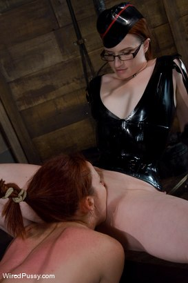 Photo number 14 from Trinity Post returns to Wiredpussy for an explosive update with Claire Adams shot for Wired Pussy on Kink.com. Featuring Claire Adams and Trinity Post in hardcore BDSM & Fetish porn.