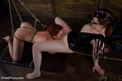 Photo number 13 from Trinity Post returns to Wiredpussy for an explosive update with Claire Adams shot for Wired Pussy on Kink.com. Featuring Claire Adams and Trinity Post in hardcore BDSM & Fetish porn.