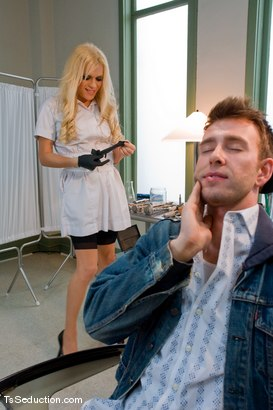 Photo number 1 from Oral Expert shot for TS Seduction on Kink.com. Featuring Jesse and Dean Strong in hardcore BDSM & Fetish porn.