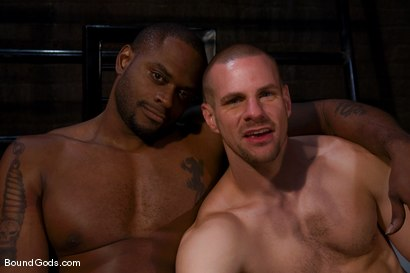 Photo number 15 from Master Diesel Washington and slave park wiley shot for Bound Gods on Kink.com. Featuring Park Wiley and Diesel Washington in hardcore BDSM & Fetish porn.