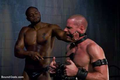 Photo number 8 from Master Diesel Washington and slave park wiley shot for Bound Gods on Kink.com. Featuring Park Wiley and Diesel Washington in hardcore BDSM & Fetish porn.