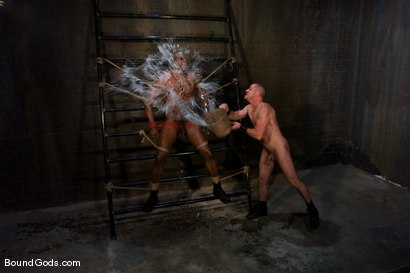 Photo number 2 from Master Diesel Washington and slave park wiley shot for Bound Gods on Kink.com. Featuring Park Wiley and Diesel Washington in hardcore BDSM & Fetish porn.