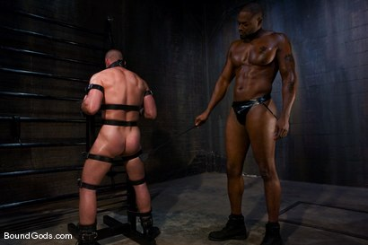 Photo number 4 from Master Diesel Washington and slave park wiley shot for Bound Gods on Kink.com. Featuring Park Wiley and Diesel Washington in hardcore BDSM & Fetish porn.