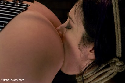 Photo number 9 from Maitresse Madeline makes her debut at Wiredpussy!!! shot for Wired Pussy on Kink.com. Featuring Maitresse Madeline Marlowe  and January Seraph in hardcore BDSM & Fetish porn.