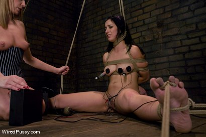 Photo number 11 from Maitresse Madeline makes her debut at Wiredpussy!!! shot for Wired Pussy on Kink.com. Featuring Maitresse Madeline Marlowe  and January Seraph in hardcore BDSM & Fetish porn.