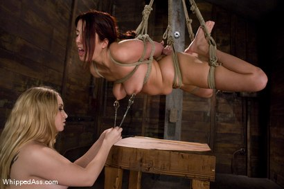 Photo number 9 from Lavender Rayne shot for Whipped Ass on Kink.com. Featuring Lavender Rayne and Aiden Starr in hardcore BDSM & Fetish porn.