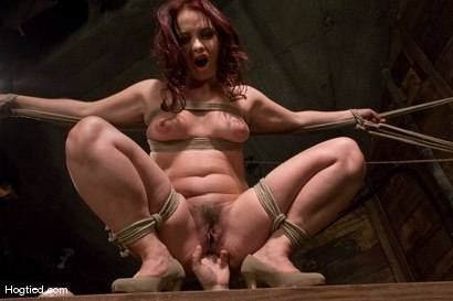 Photo number 4 from Olga Cabaeva <br>Can't Get Enough shot for Hogtied on Kink.com. Featuring Olga Cabaeva in hardcore BDSM & Fetish porn.