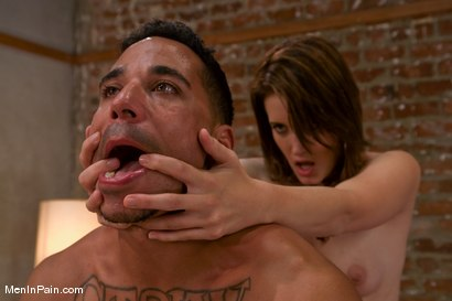 Photo number 9 from The Little Black Dress shot for Men In Pain on Kink.com. Featuring Kimberly Kane and Lobo in hardcore BDSM & Fetish porn.