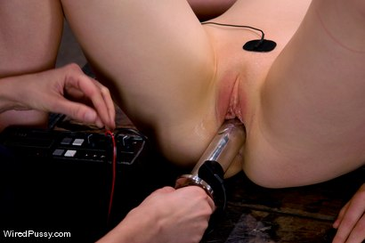 Photo number 10 from Electrical Demo Part 3: Insertables shot for Wired Pussy on Kink.com. Featuring Lorelei Lee in hardcore BDSM & Fetish porn.