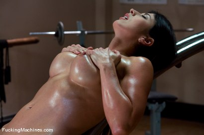 Photo number 15 from Pilates Instructor - Elyse stretches for the machines shot for Fucking Machines on Kink.com. Featuring Elyse in hardcore BDSM & Fetish porn.