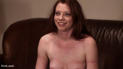 Photo number 15 from Casting Couch 5 Blue-Eyed Beauty Tied & Fucked shot for Hogtied on Kink.com. Featuring Amber Keen in hardcore BDSM & Fetish porn.