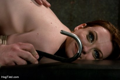 Photo number 10 from Amber Keen: Natural raw sexuaity taken advantage of shot for Hogtied on Kink.com. Featuring Amber Keen in hardcore BDSM & Fetish porn.