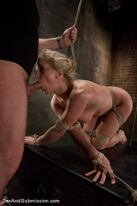 Photo number 9 from Dia Zerva shot for Sex And Submission on Kink.com. Featuring Mark Davis and Dia Zerva in hardcore BDSM & Fetish porn.