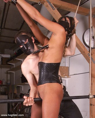 Photo number 9 from Amour shot for Hogtied on Kink.com. Featuring Amour in hardcore BDSM & Fetish porn.