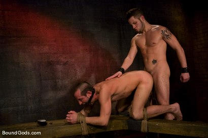 Photo number 14 from Do You Know Who I Am? shot for Bound Gods on Kink.com. Featuring Jason Miller and Wolf Hudson in hardcore BDSM & Fetish porn.
