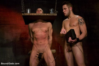 Photo number 8 from Do You Know Who I Am? shot for Bound Gods on Kink.com. Featuring Jason Miller and Wolf Hudson in hardcore BDSM & Fetish porn.