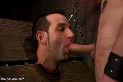Photo number 7 from Do You Know Who I Am? shot for Bound Gods on Kink.com. Featuring Jason Miller and Wolf Hudson in hardcore BDSM & Fetish porn.