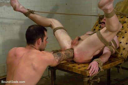 Photo number 11 from The Shower Lurker shot for Bound Gods on Kink.com. Featuring Dak Ramsey and Billy Berlin in hardcore BDSM & Fetish porn.