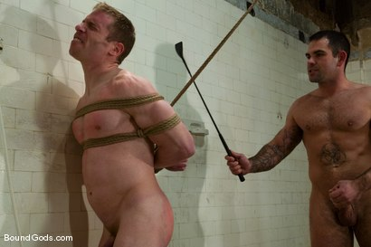 Photo number 4 from The Shower Lurker shot for Bound Gods on Kink.com. Featuring Dak Ramsey and Billy Berlin in hardcore BDSM & Fetish porn.