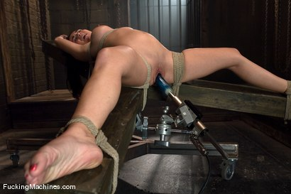 Photo number 5 from Holly West - bound and cumming shot for Fucking Machines on Kink.com. Featuring Holly West in hardcore BDSM & Fetish porn.