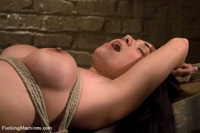 Photo number 3 from Holly West - bound and cumming shot for Fucking Machines on Kink.com. Featuring Holly West in hardcore BDSM & Fetish porn.