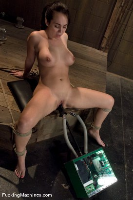 Photo number 11 from Holly West - bound and cumming shot for Fucking Machines on Kink.com. Featuring Holly West in hardcore BDSM & Fetish porn.