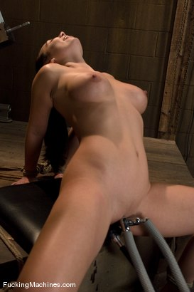 Photo number 14 from Holly West - bound and cumming shot for Fucking Machines on Kink.com. Featuring Holly West in hardcore BDSM & Fetish porn.