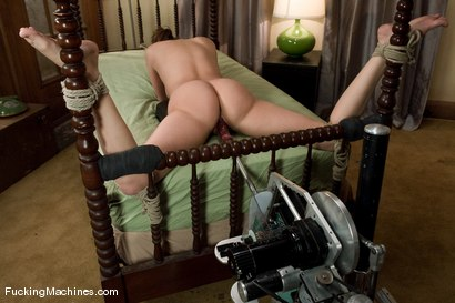 Photo number 9 from FUCKINGMACHINES.COM ARCHIVE CLASSIC SHOOT: Look What Begging Gets You shot for Fucking Machines on Kink.com. Featuring Charlie Laine in hardcore BDSM & Fetish porn.