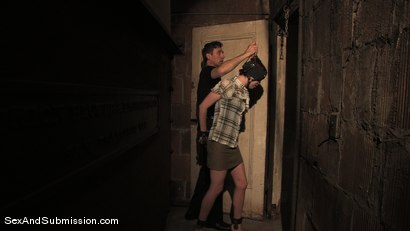 Photo number 2 from Local Girl shot for Sex And Submission on Kink.com. Featuring Steve Holmes and Lilla Katt in hardcore BDSM & Fetish porn.