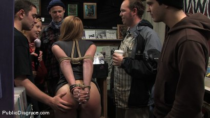 Photo number 3 from Skater Slut shot for Public Disgrace on Kink.com. Featuring Ami Emerson and Joey Nobody in hardcore BDSM & Fetish porn.