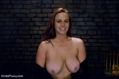 Photo number 15 from Bella Rossi gets her big natural tits shocked and bound!!! shot for Wired Pussy on Kink.com. Featuring Princess Donna Dolore and Bella Rossi in hardcore BDSM & Fetish porn.