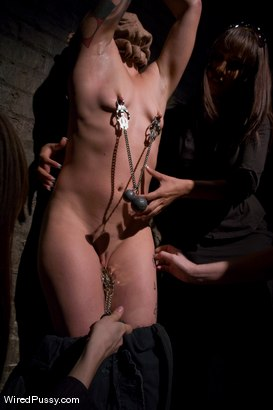Photo number 2 from Interrogation shot for Wired Pussy on Kink.com. Featuring Syd Blakovich, Isis Love, Maitresse Madeline Marlowe and Princess Donna Dolore in hardcore BDSM & Fetish porn.