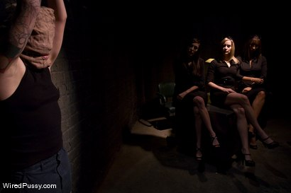 Photo number 1 from Interrogation shot for Wired Pussy on Kink.com. Featuring Syd Blakovich, Isis Love, Maitresse Madeline Marlowe and Princess Donna Dolore in hardcore BDSM & Fetish porn.