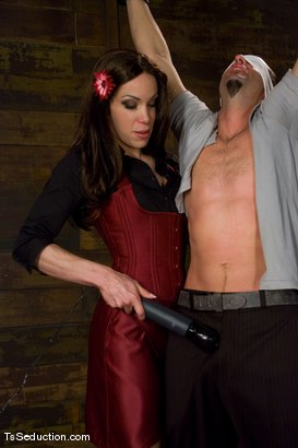 Photo number 2 from The Ride Ain't Free - La Cherry Spice and Jason Miller shot for TS Seduction on Kink.com. Featuring La Cherry Spice and Jason Miller in hardcore BDSM & Fetish porn.