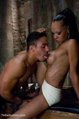 Photo number 8 from Meet Foxy and her 10 inch cock shot for TS Seduction on Kink.com. Featuring Foxy and Lobo in hardcore BDSM & Fetish porn.