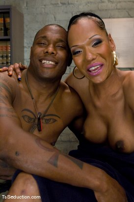 Photo number 15 from Don't ask, don't tell - just suck it. shot for TS Seduction on Kink.com. Featuring Foxy and Jack Hammer in hardcore BDSM & Fetish porn.