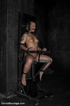 Photo number 1 from Rock-Nipples-Suffer shot for Device Bondage on Kink.com. Featuring Sara Faye in hardcore BDSM & Fetish porn.