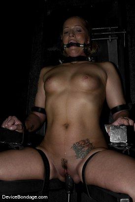 Photo number 4 from Rock-Nipples-Suffer shot for Device Bondage on Kink.com. Featuring Sara Faye in hardcore BDSM & Fetish porn.