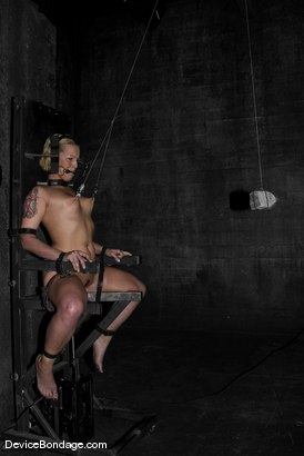 Photo number 6 from Rock-Nipples-Suffer shot for Device Bondage on Kink.com. Featuring Sara Faye in hardcore BDSM & Fetish porn.