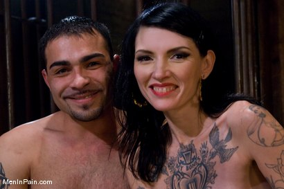 Photo number 15 from Yes, Mistress shot for Men In Pain on Kink.com. Featuring Rico and Simone Kross in hardcore BDSM & Fetish porn.