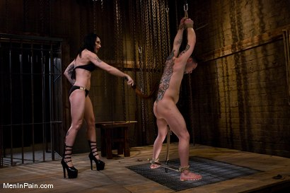 Photo number 2 from Yes, Mistress shot for Men In Pain on Kink.com. Featuring Rico and Simone Kross in hardcore BDSM & Fetish porn.