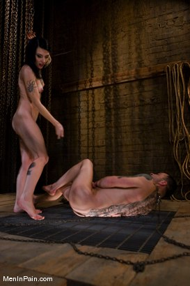 Photo number 13 from Yes, Mistress shot for Men In Pain on Kink.com. Featuring Rico and Simone Kross in hardcore BDSM & Fetish porn.