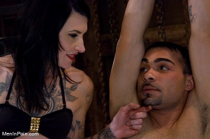 Photo number 1 from Yes, Mistress shot for Men In Pain on Kink.com. Featuring Rico and Simone Kross in hardcore BDSM & Fetish porn.