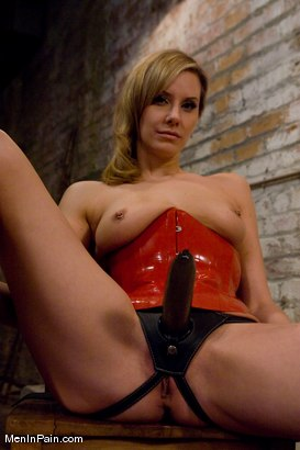 Photo number 14 from Training the Basement Slave shot for Men In Pain on Kink.com. Featuring Maitresse Madeline Marlowe  and Orlando in hardcore BDSM & Fetish porn.