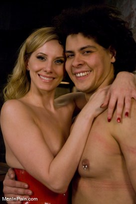 Photo number 15 from Training the Basement Slave shot for Men In Pain on Kink.com. Featuring Maitresse Madeline Marlowe  and Orlando in hardcore BDSM & Fetish porn.
